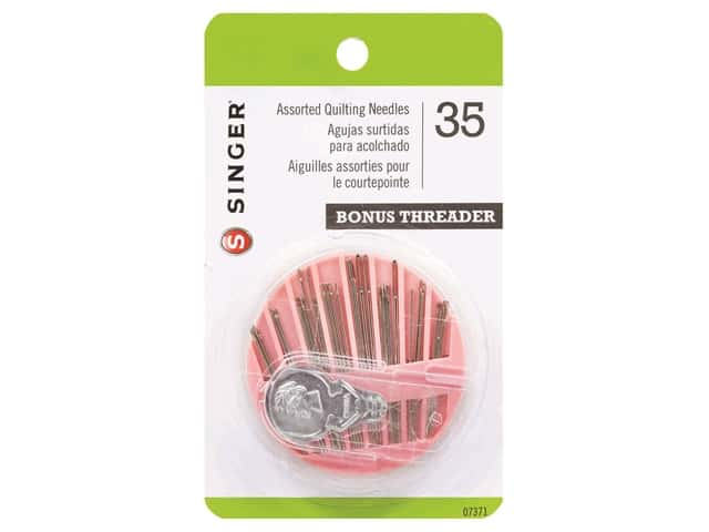 Singer Hand Needle Assorted Quilting 35pc
