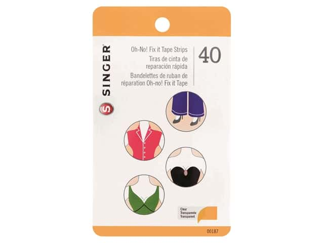 Singer Oh No Fix It Tape Strips 40pc