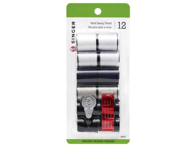 Singer Hand Sewing Thread 12pc