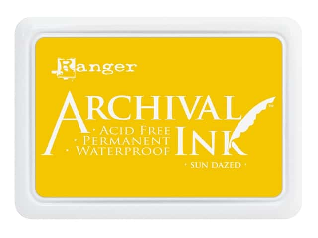 Ranger Archival Ink Pad Sun Dazed