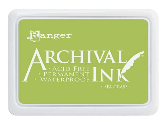 Ranger Archival Ink Pad Sea Grass