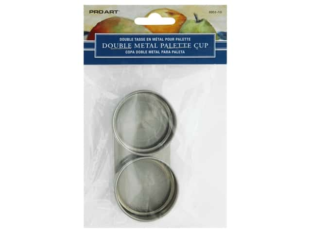 Pro Art Palette Double Cup Metal