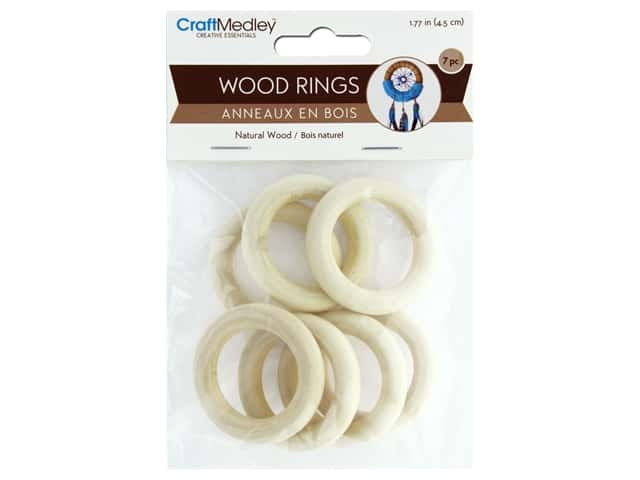 Multicraft Wood Craft Ring 45mm 7pc
