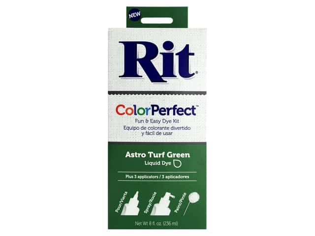 Rit Dye Kit Color Perfect Astro Turf Green 8oz