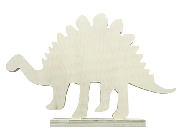 """Sierra Pacific Crafts Wood Dinosaur Plywood 11""""x 1.5""""x 7.5"""" Unfinished"""