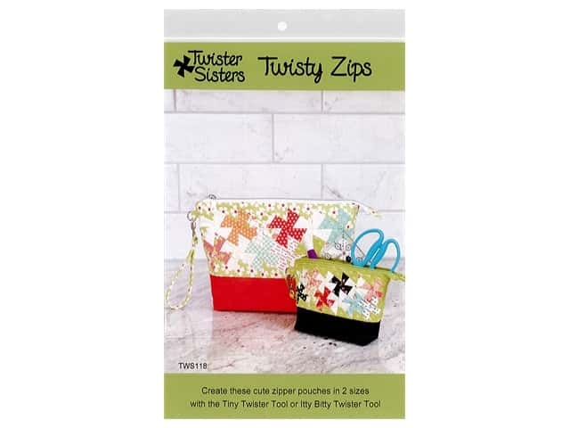 Twister Sisters Patterns Twisty Zips Pattern
