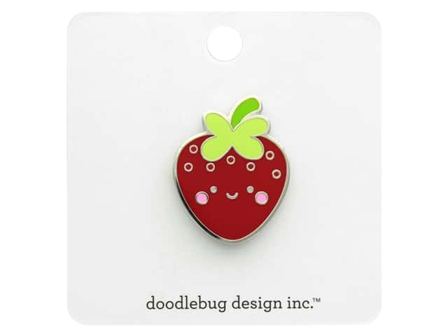 Doodlebug Collection Bar-B-Cute Collectible Pin Berry Cute