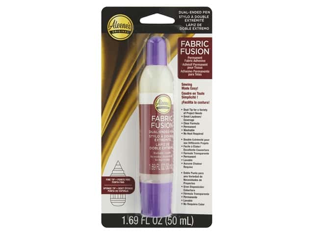 Aleene's Fabric Fusion Dual Ended Pen Carded 1.69oz