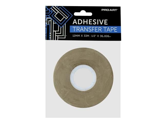 Pro Art Tape Double Sided Adhesive Transfer .5 in. x 36 yd