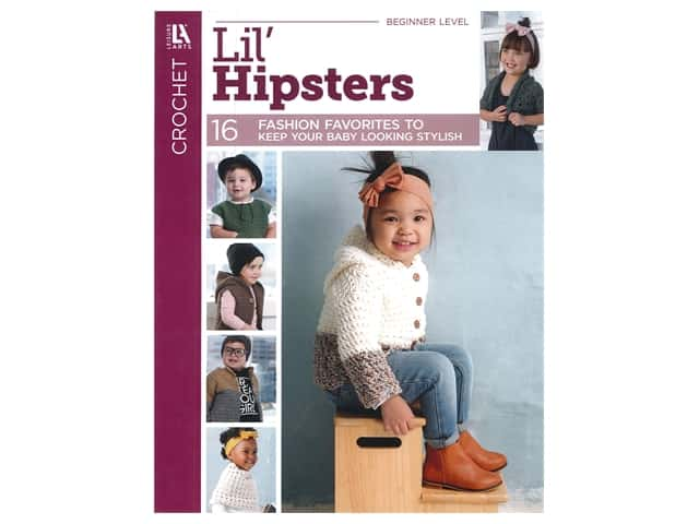 Leisure Arts Lil' Hipsters Book