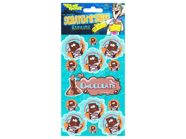 Just For Laughs Sticker Scratch N Sniff Chocolate