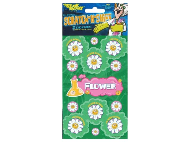 Just For Laughs Sticker Scratch-Sniff Flower Power