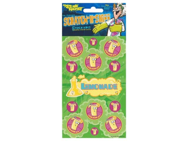 Just For Laughs Sticker Scratch-Sniff Lemonade