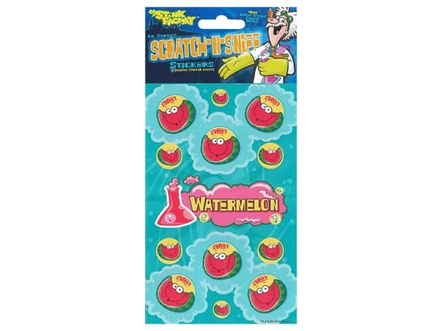Just For Laughs Sticker Scratch-Sniff Watermelon