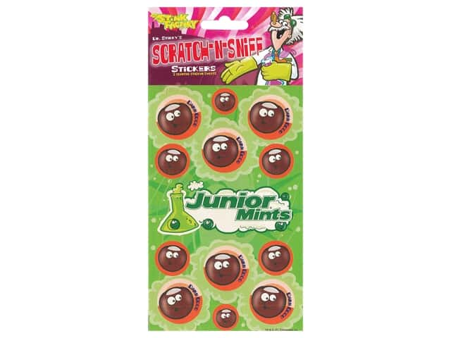 Just For Laughs Sticker Scratch-Sniff Junior Mints