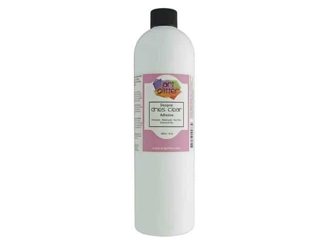 Art Institute Glitter Glue Designer Dries Clear 16oz