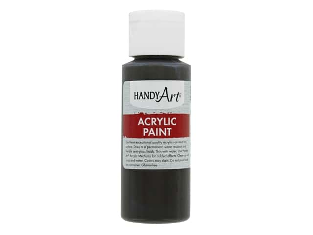 Handy Art Acrylic Paint 2 oz. Raw Umber
