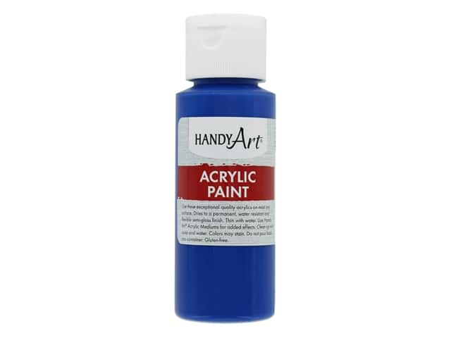 Handy Art Acrylic Paint 2 oz. Phthalo Blue