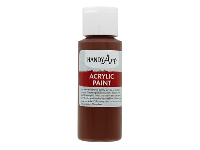 Handy Art Acrylic Paint 2 oz. Burnt Sienna