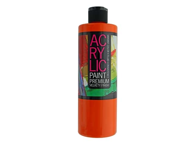 Pro Art Student Acrylic Paint 16 oz. Brilliant Orange