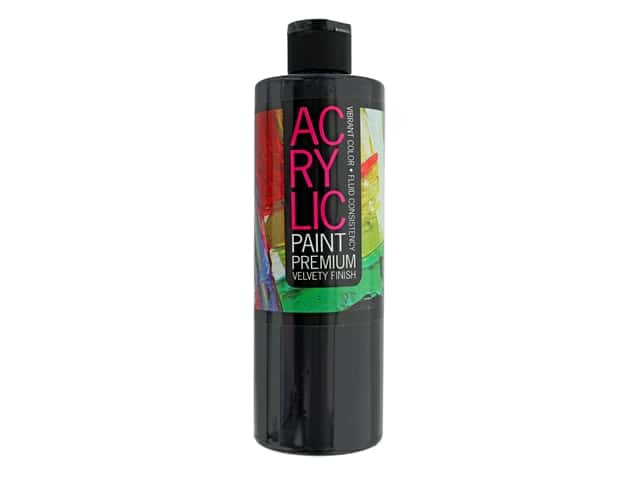 Pro Art Student Acrylic Paint 16 oz. Lamp Black