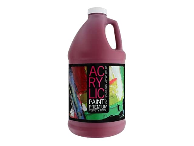 Pro Art Student Acrylic Paint 64 oz. Phthalo Red