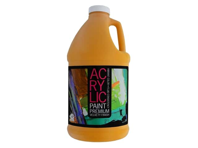 Pro Art Student Acrylic Paint 64 oz. Indian Yellow