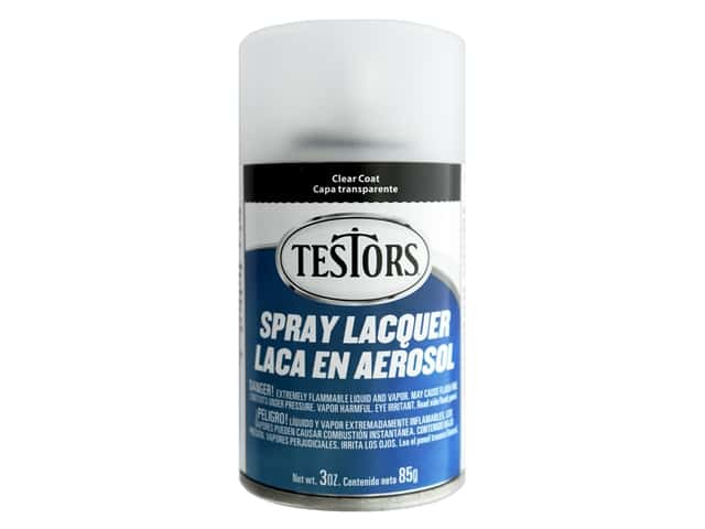 Testors Accessories Lacquer Top Coat Spray Dullcote 3oz