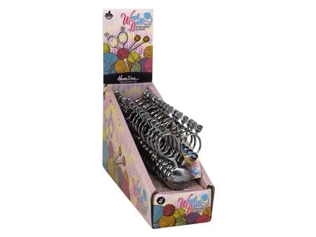 """Tacony Embroidery Scissors 3.9"""" Wool Ball 15 pc."""