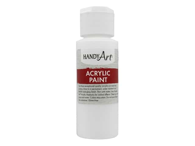 Handy Art Acrylic Paint 2 oz. Blockout White
