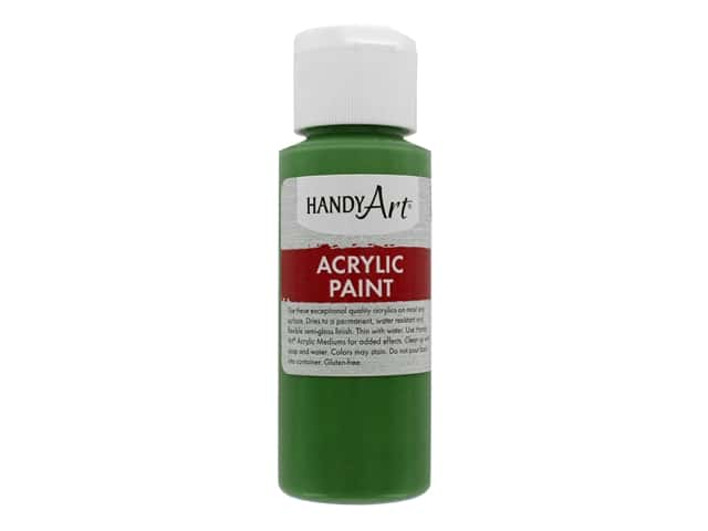 Handy Art Acrylic Paint 2 oz. Green Oxide