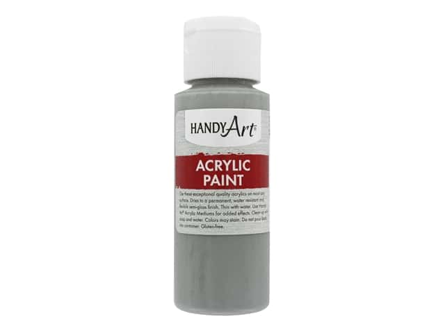 Handy Art Acrylic Paint 2 oz. Gray
