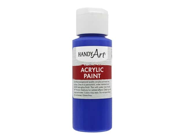 Handy Art Acrylic Paint 2 oz. Ultramarine