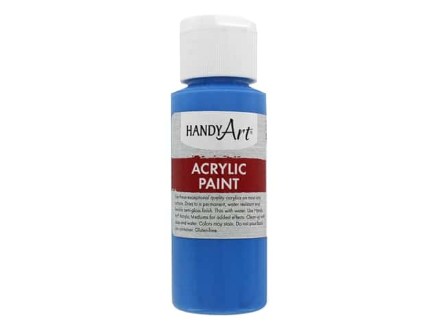 Handy Art Acrylic Paint 2 oz. Cobalt Blue