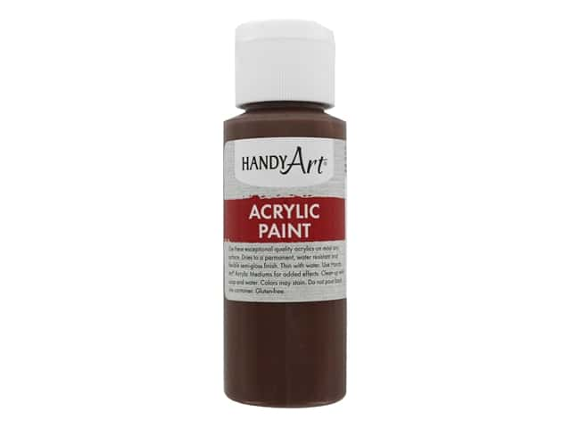 Handy Art Acrylic Paint 2 oz. Burnt Umber