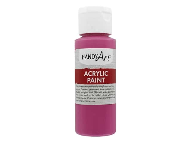 Handy Art Acrylic Paint 2 oz. Magenta