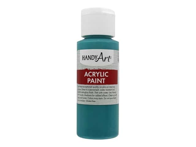 Handy Art Acrylic Paint 2 oz. Turquoise