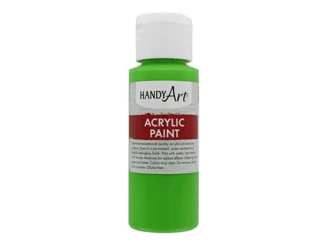 Handy Art Acrylic Paint 2 oz. Light Green