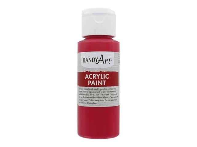 Handy Art Acrylic Paint 2 oz. Primary Magenta