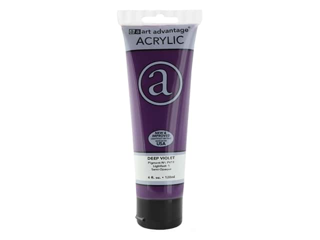Art Advantage Acrylic Paint 4 oz. Deep Violet