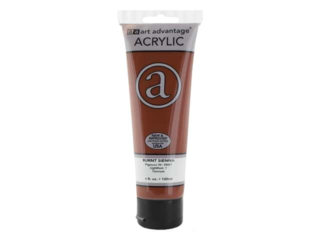 Art Advantage Acrylic Paint 4 oz. Burnt Sienna