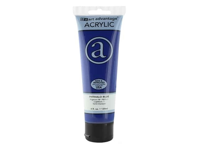 Art Advantage Acrylic Paint 4 oz. Phthalo Blue
