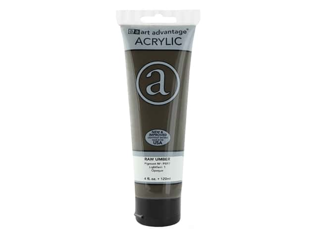 Art Advantage Acrylic Paint 4 oz. Raw Umber