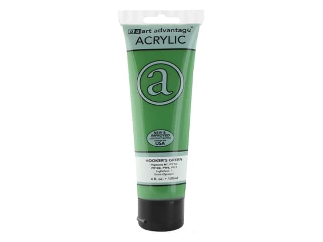 Art Advantage Acrylic Paint 4 oz. Hookers Green