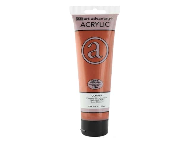 Art Advantage Acrylic Paint 4oz Copper