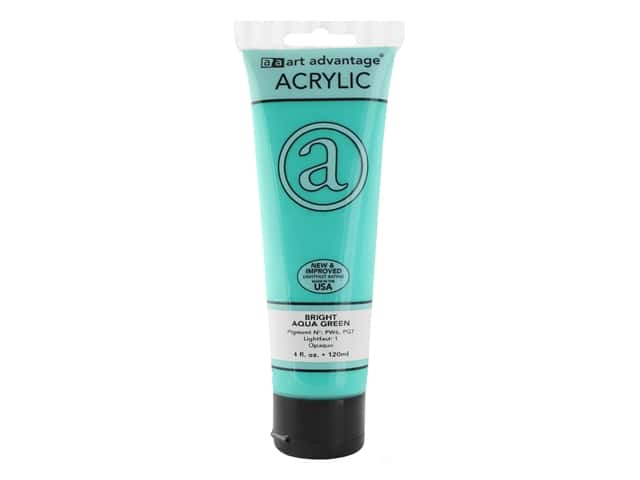 Art Advantage Acrylic Paint 4 oz. Bright Aqua Green