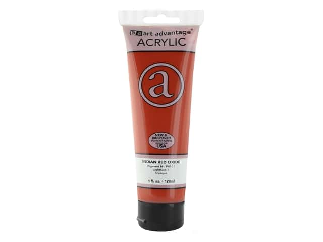 Art Advantage Acrylic Paint 4 oz. Indian Red Oxide