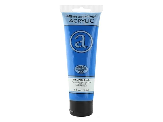 Art Advantage Acrylic Paint 4 oz. Primary Blue