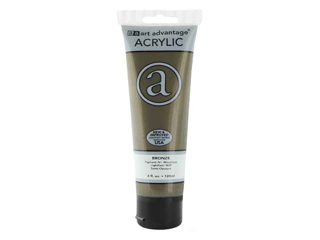 Art Advantage Acrylic Paint 4 oz. Bronze