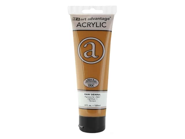 Art Advantage Acrylic Paint 4 oz. Raw Sienna